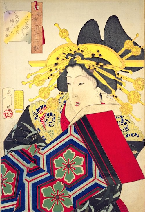 江戸時代の遊女